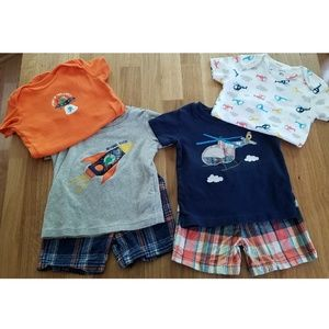 Carters Baby Boy 3 Piece Set Bundle